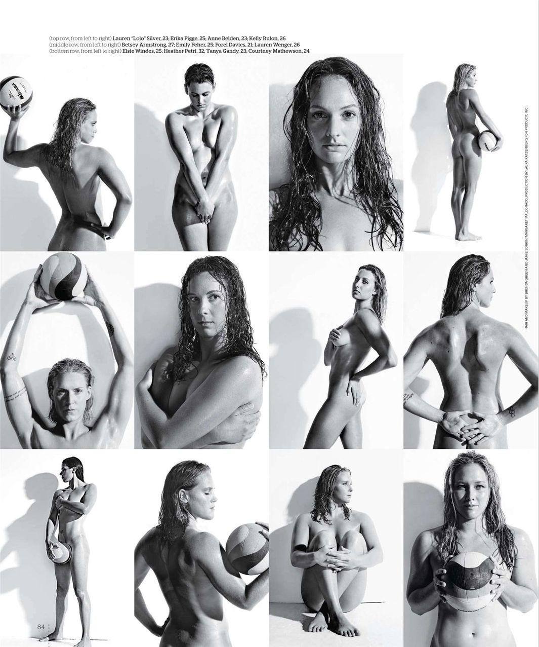 Женская сборная США по водному поло / USA Women Water Polo Team - ESPN Magazine Body Issue 18 october 2010