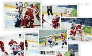 Фото с матча. Русские Витязи - Амурские тигры