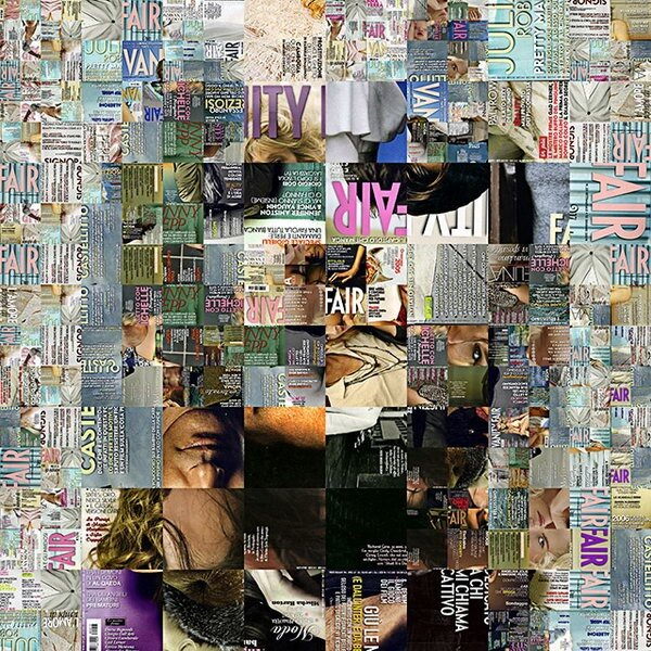 Vanity Fair Mosaic by Village9991