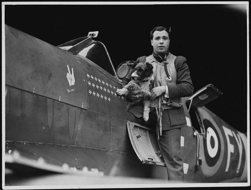 Эрик Lock известный летчик истребитель,на его счету 26,5 сбитых вражеских самолета
