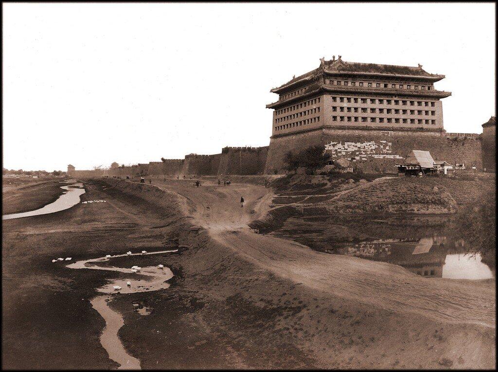 Pekin, Walls Of The Tartar City,1894-1896 William H. Jackson