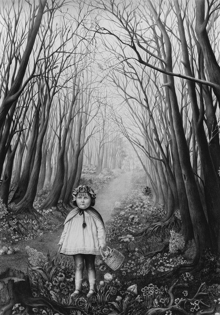 Мир скелетов - художница Laurie Lipton