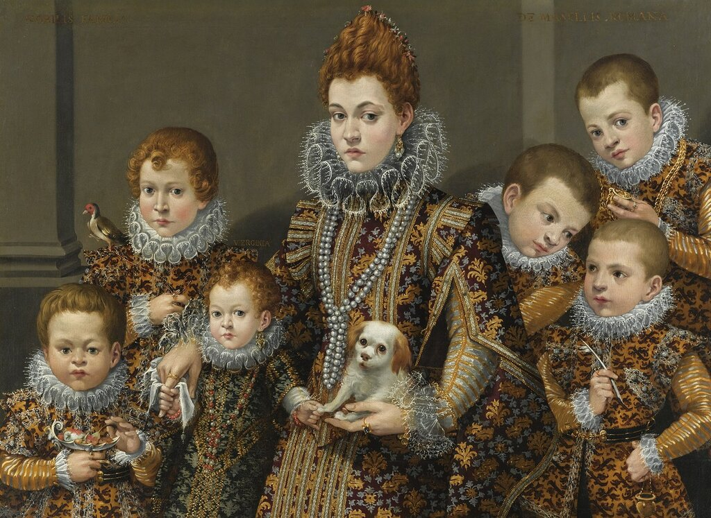 Lavinia_Fontana_Portrait_of_Bianca_Degli_Utili_Maselli_and_her_children 1604-1605.jpg