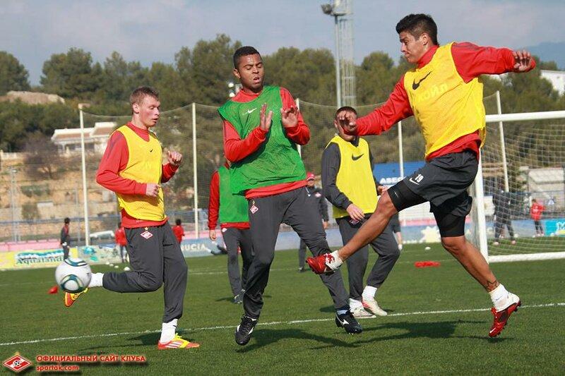 Тренировка «Спартака» в Испании (Фото)