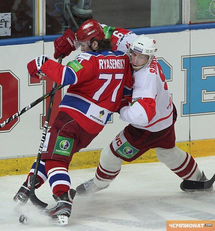 ЦСКА vs «Спартак» 4:1 чемпионат КХЛ 2011-2012 (Фото)
