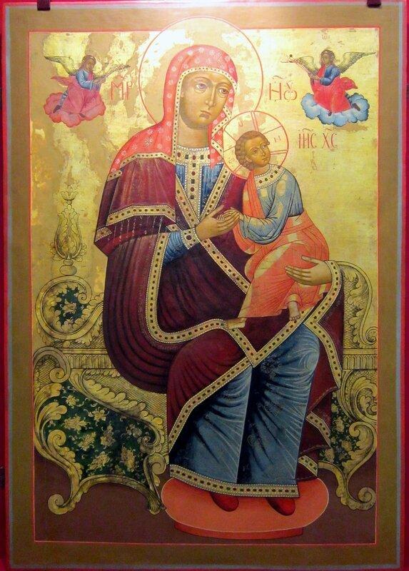 Страстная икона Божией Матери. Первая половина XIX века.