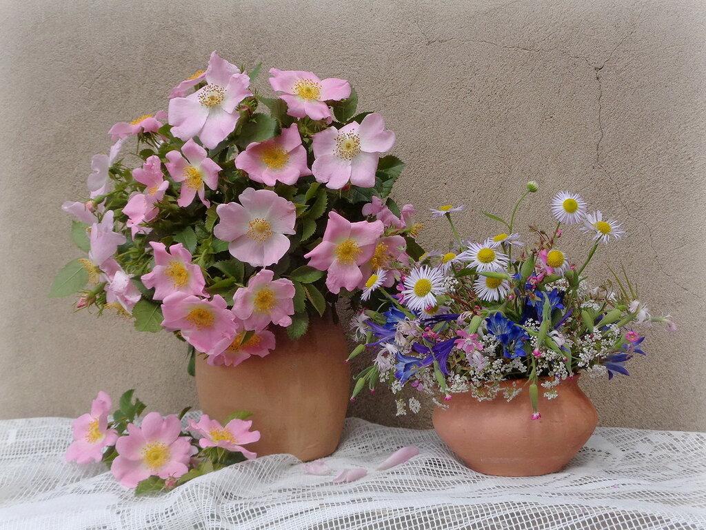 Акварельные краски весны...