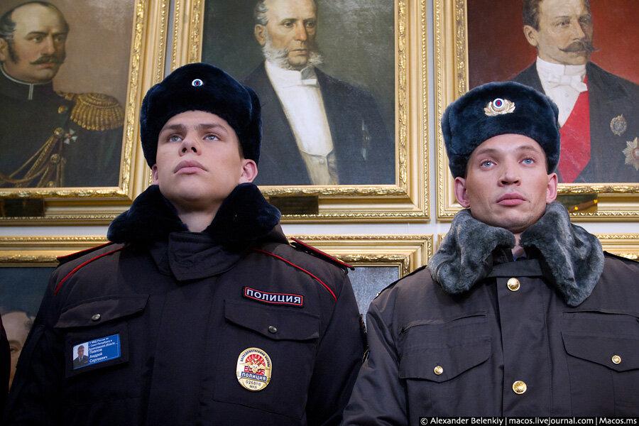 Во что переоденут полицейских