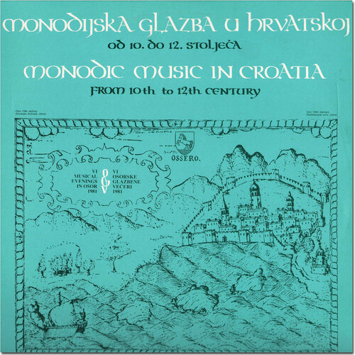 Hortus Musicus - Monodic Music In Croatia From 10th To 12th Century (1982) APE