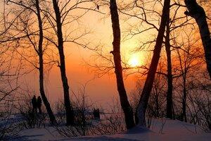 Зимним вечером
