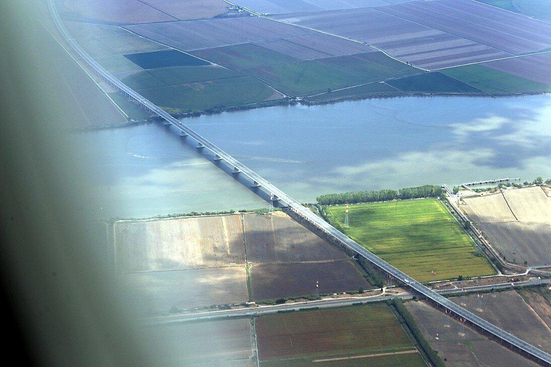 Португалия. Мост Лезириа (Ponte da Lezíria)