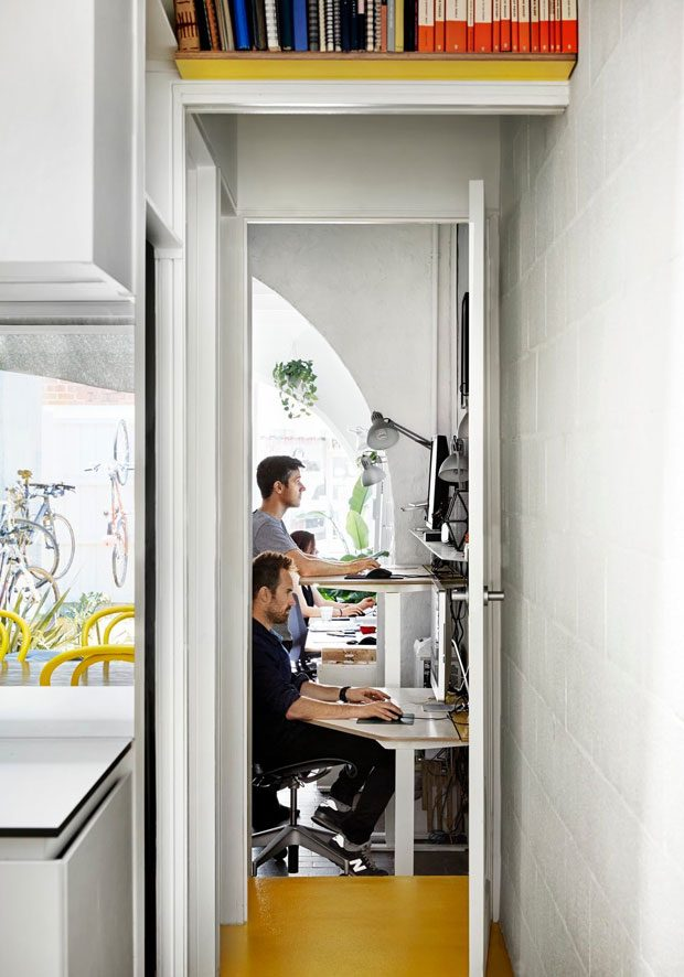 Proper lighting and ventilation are essential in a home office as it helps a person to stay focused