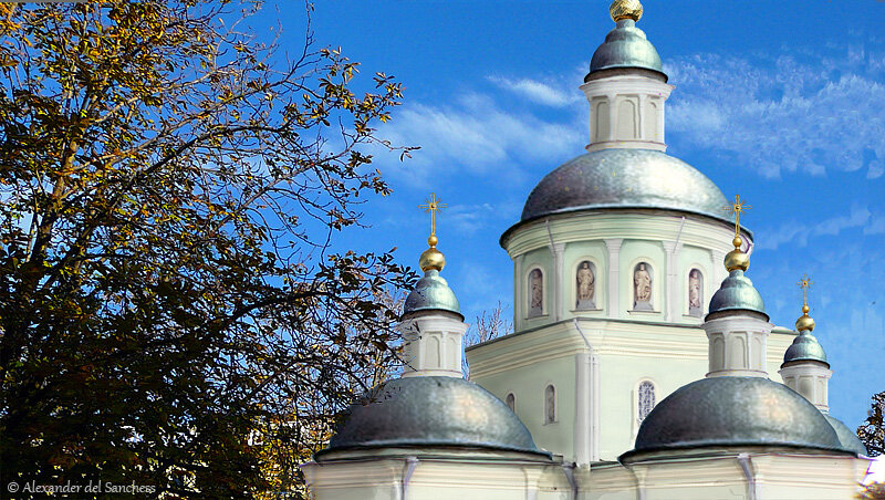 Свято-Троицкий собор в Белгороде, фотореконструкция. http://sanchess-city31.livejournal.com