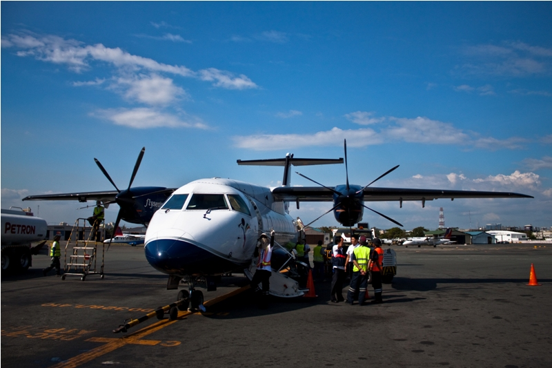 Филиппины, перелет из Катиклана в Манилу