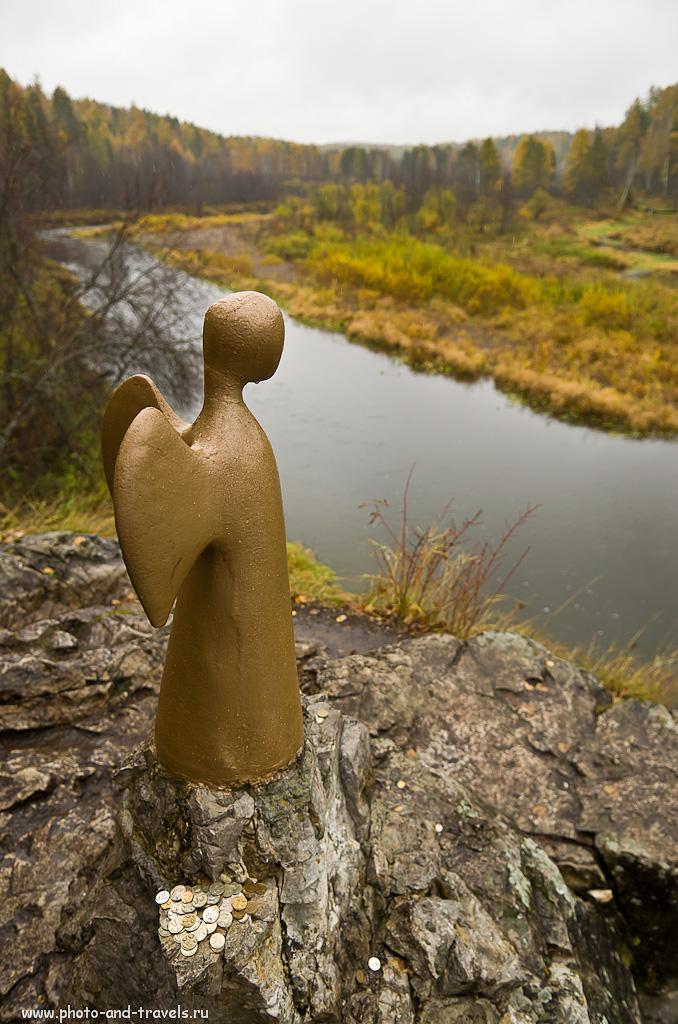 """7. Если воспользуетесь картой и пойдете по самому интересному маршруту в заповеднике """"Оленьи ручьи"""", встретите Ангела."""