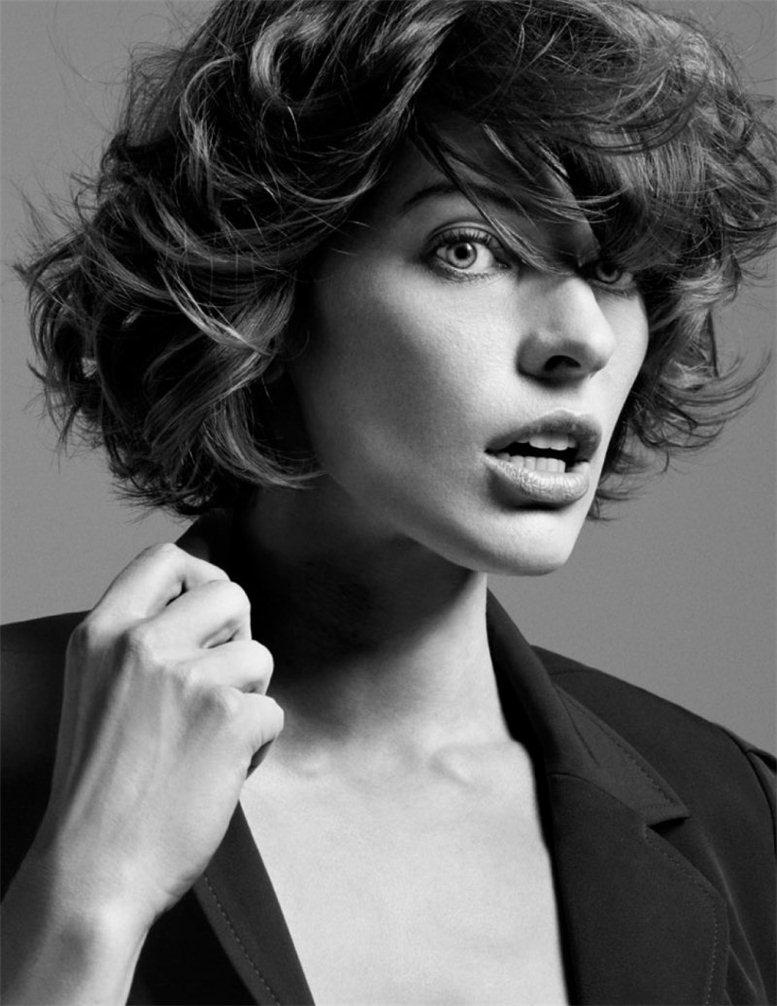модель Милла Йовович / Milla Jovovich, фотографы Inez & Vinoodh
