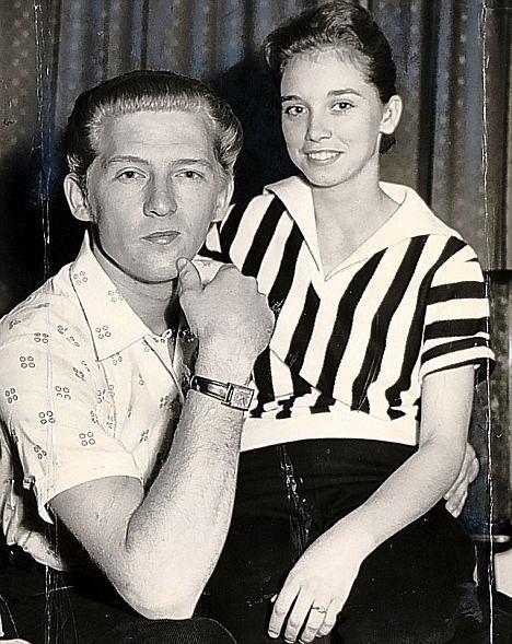 Джерри Ли Льюисе и его жена Майра