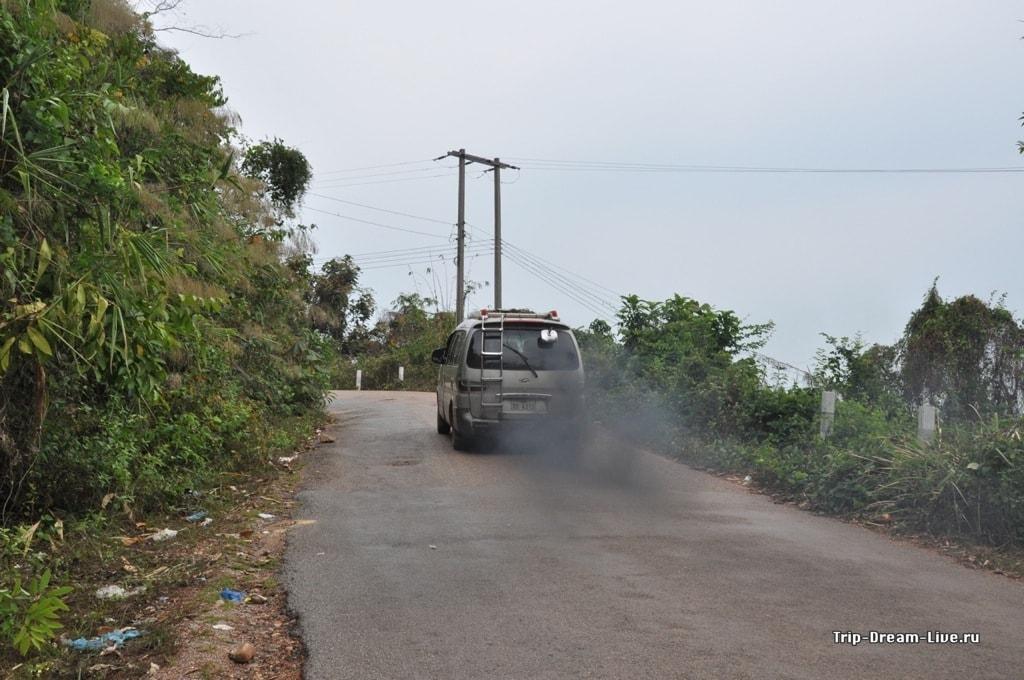 Лаосская маршрутка
