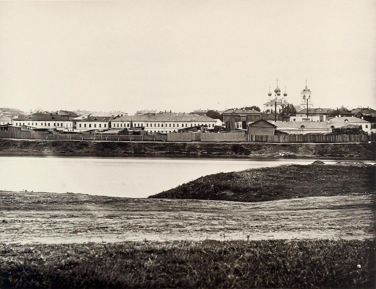 356. 2-й вид из Дорогомилова (выше Бородинского моста)