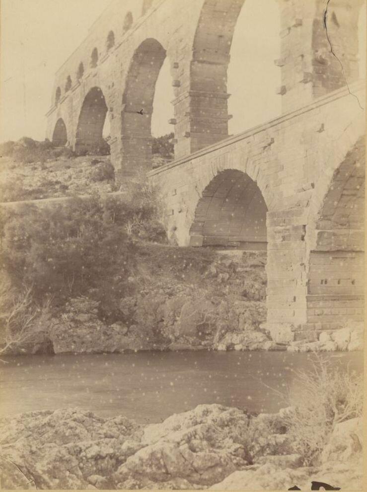 Пон-дю-Гар. 1880-е