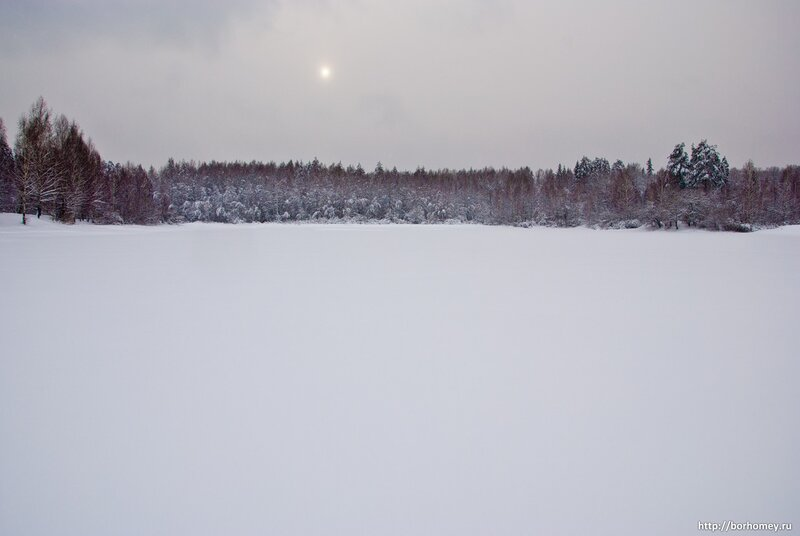 филипповка зимой