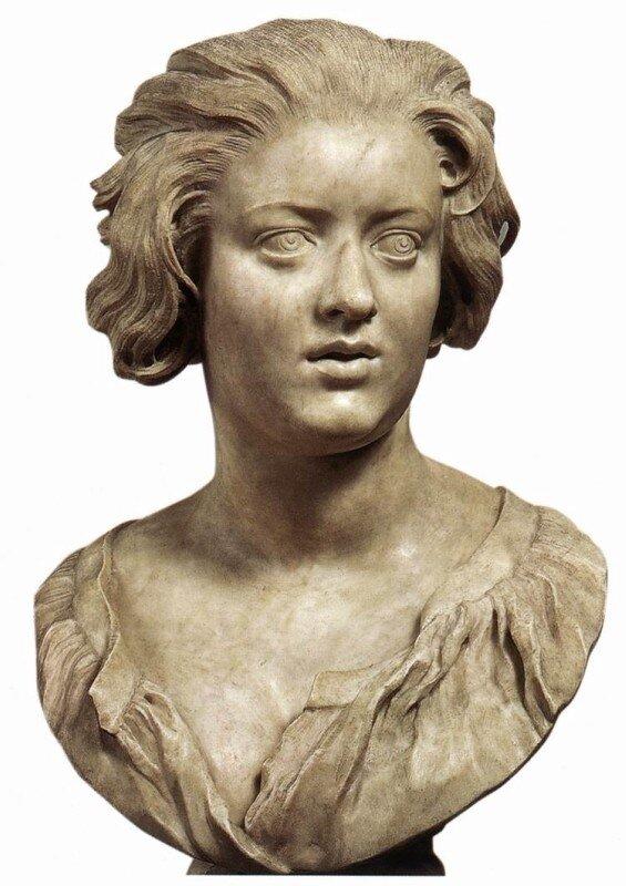 Бернини. Портрет Констанции Буонарелли
