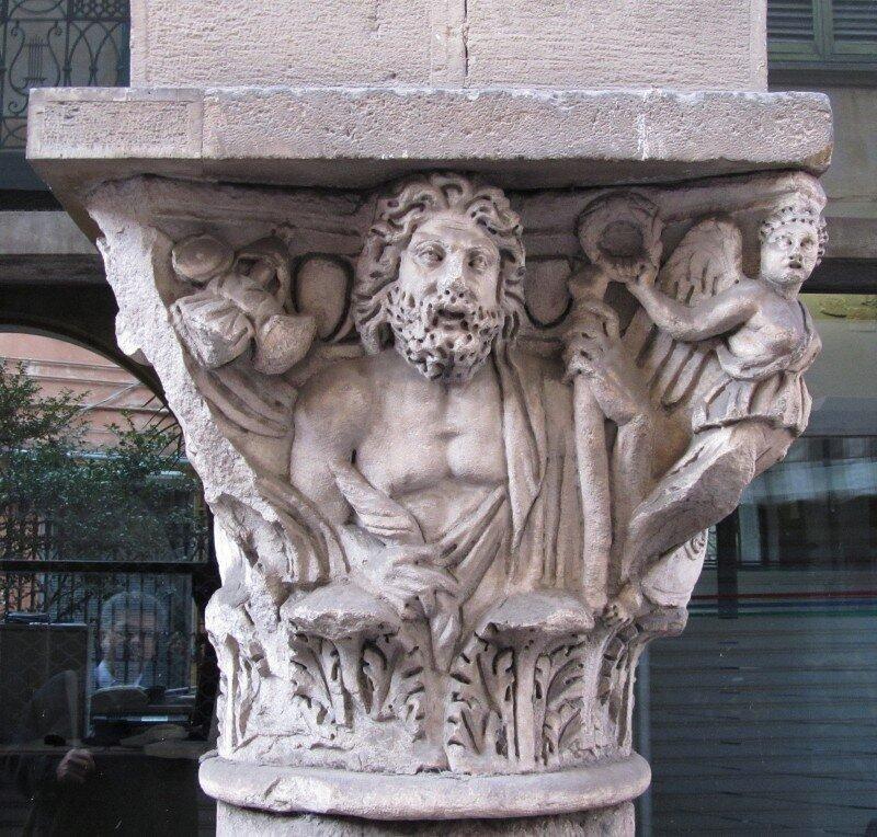 Древнеримская капитель