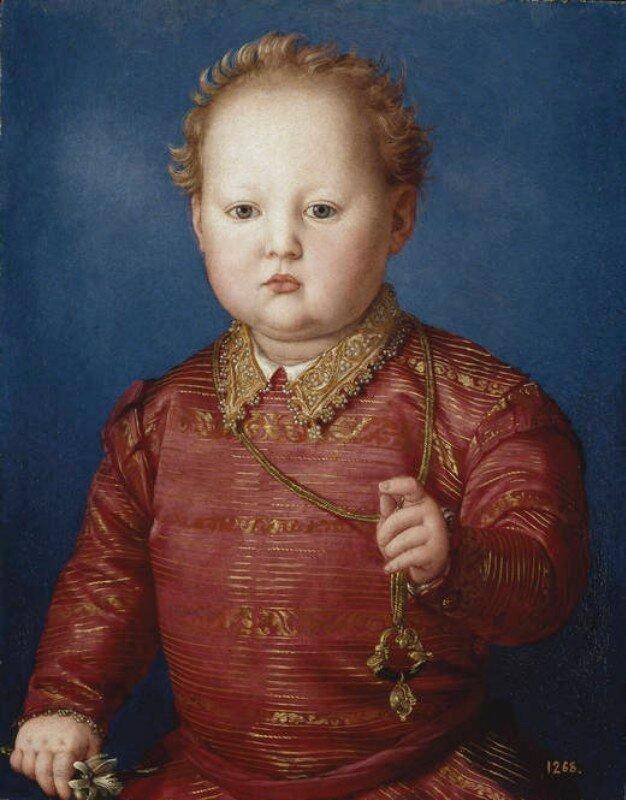 Бронзино. Портрет Гарсиа Медичи