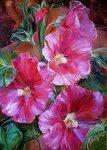 Цветы Анны Хомчик