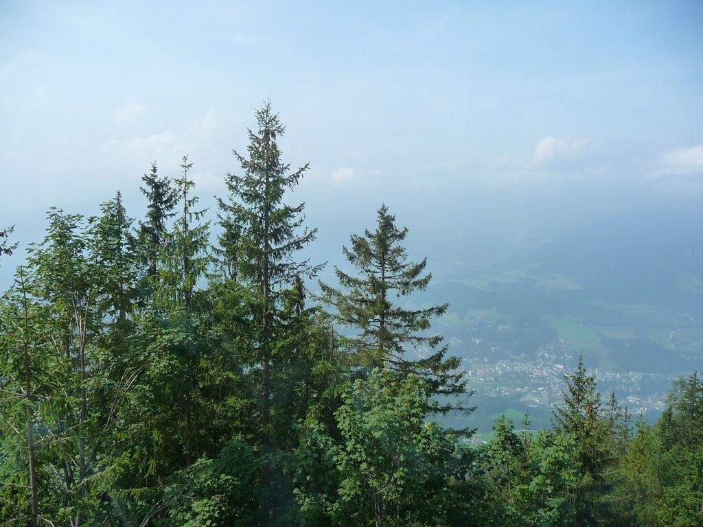 С высоты 1700 метров.
