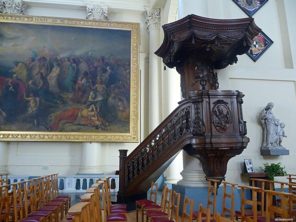 Eglise St-Jacque sur Coudenburg (7) Кафедра.