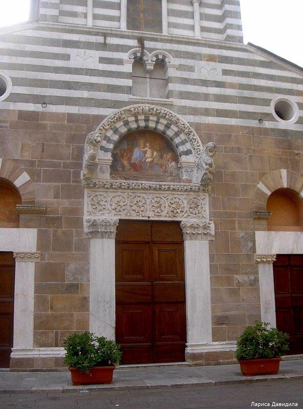 Лукка - старинный город Тосканы, Италия.