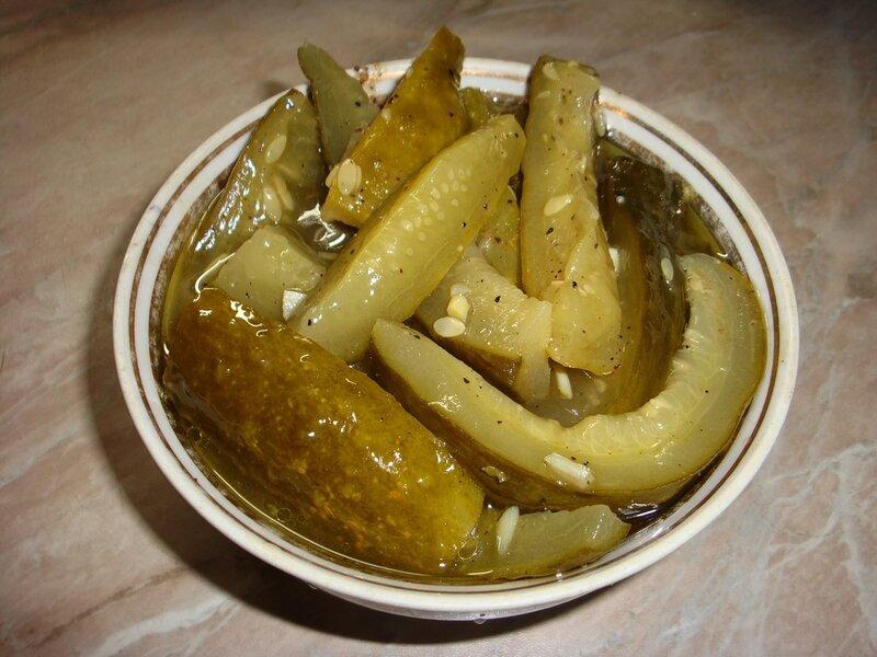 Рекомендую! Огурцы пряные в горчице