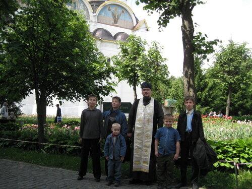 в Лавру к пр.Сергию 2010