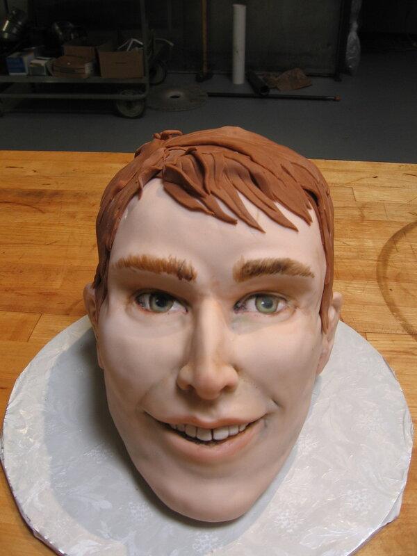 Торт голова мастер класс