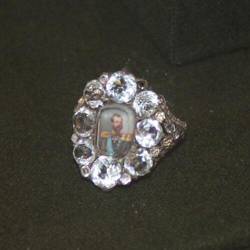 Перстень жалованный с портретом Александра II