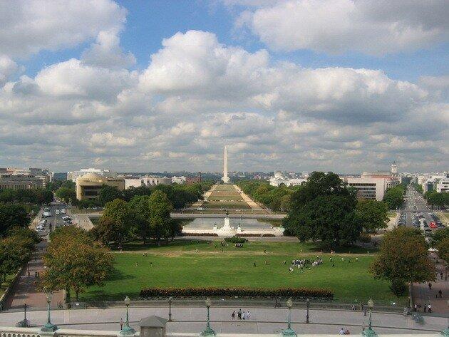 Национальная аллея. Вашингтон, США.