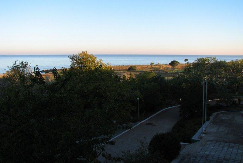 Рассвет на море (Севастополь)