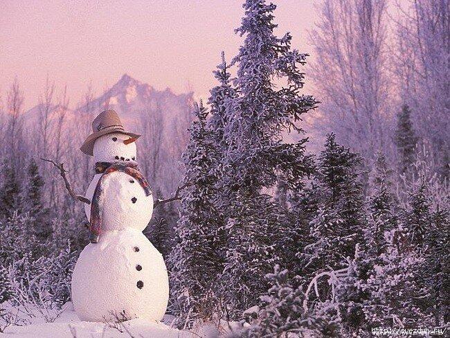 как лепить снежные фигуры