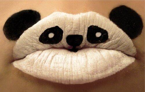 губы накрашенные фото