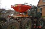 Самодельный сельскохозяйственный вездеход на шинах низкого давления 1150x370-20
