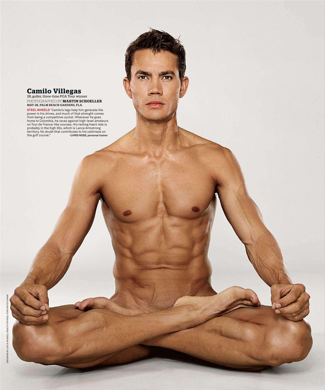 Камило Виллегас / Camilo Villegas - ESPN Magazine Body Issue 18 october 2010