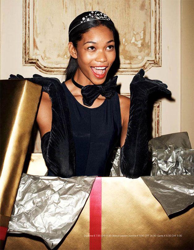 модель Шанель Иман / Chanel Iman, фотограф Terry Richardson