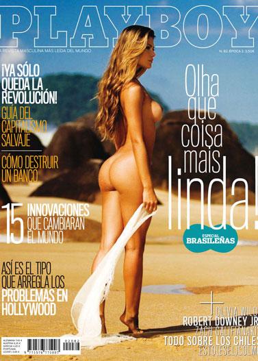 бразильские девушки / Especial Brasilenas in Playboy Spain january 2011