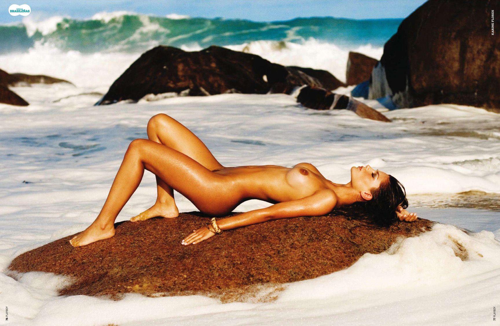 бразильские девушки / Especial Brasilenas in Playboy Spain january 2011 - Karine Flores
