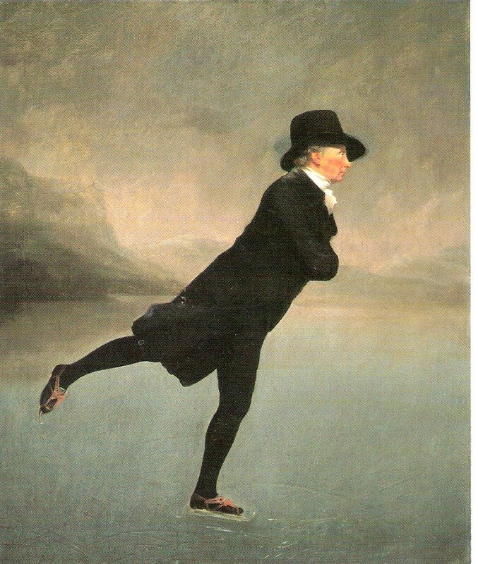 "vintage illustration,Rev Robert ""Sir Henry Raeburn"""