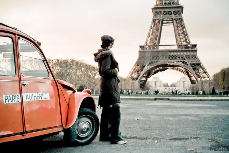 paris authentic photos by Yanidel