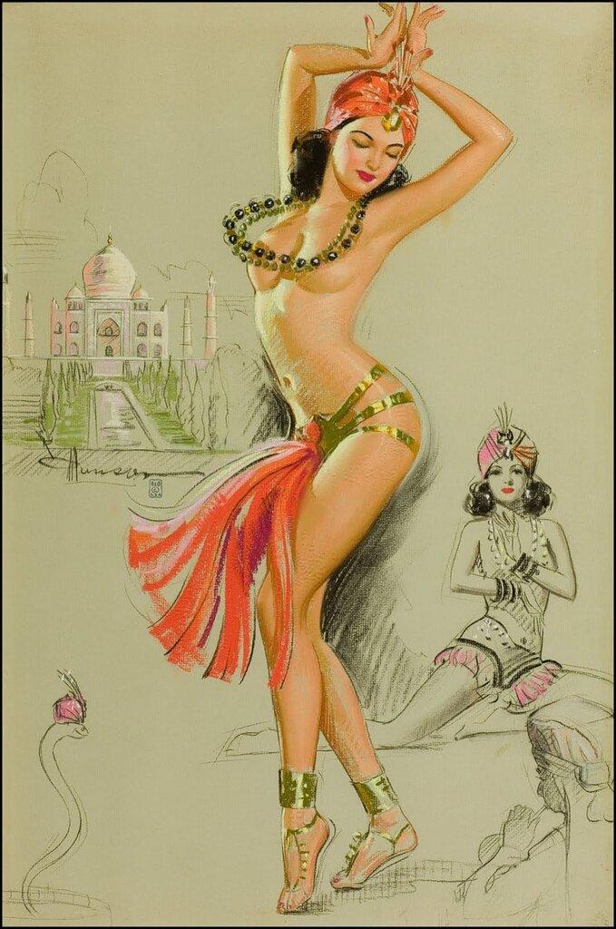 Sketch Pad календарь by Knute Munson (1900-1967)