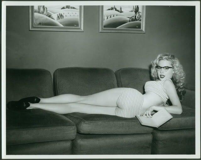 Betty Brosmer 1950's