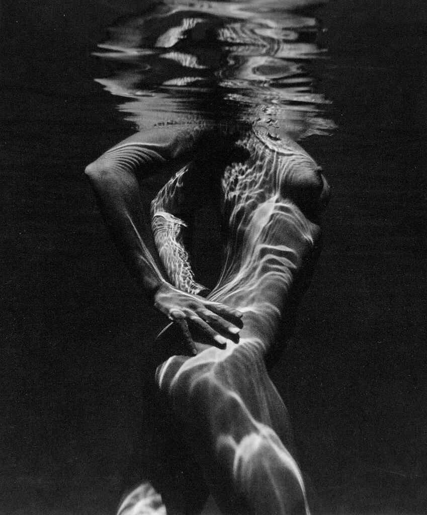 Underwater Nude  by Brett Weston